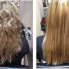 Before & After Keratin Smoothing Treatment