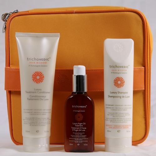 Trichovedic Luxury Argan Oil Gift Pack